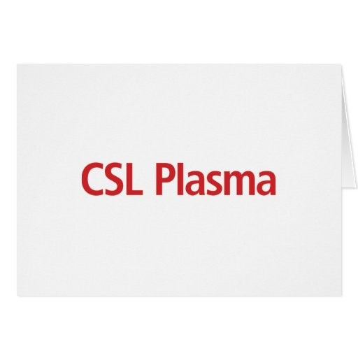 Csl plasma gift card