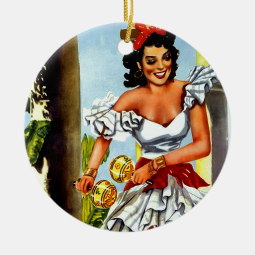 Cuban Christmas Ornaments