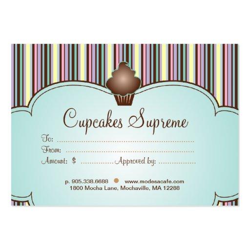 Cupcake Business Card Designs