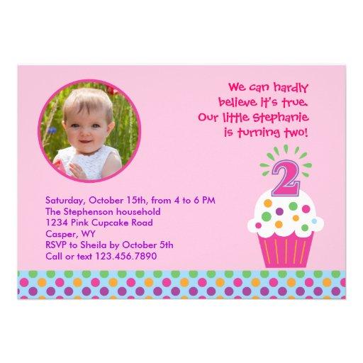 1,000+ Second Birthday Invitations, Second Birthday