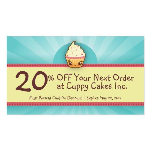 business card coupon code
