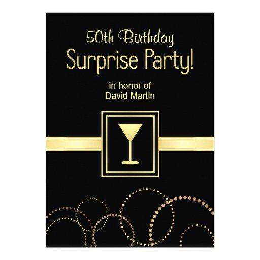 6,000+ Surprise 50th Birthday Invitations, Surprise 50th