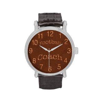 Custom Football Watches, Football Coach Gifts
