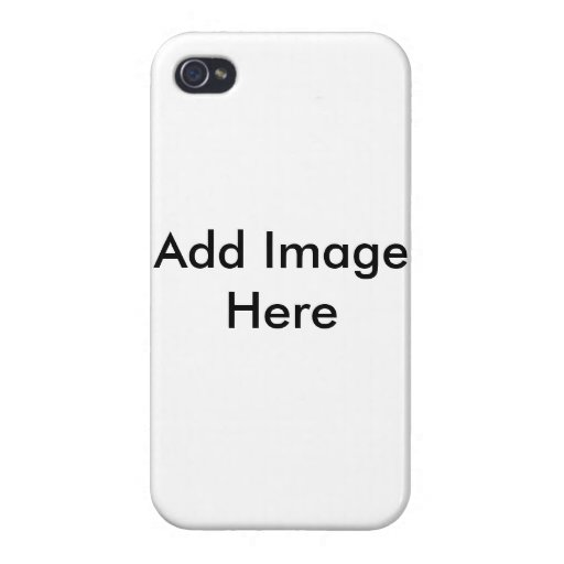 Custom Image/ Text IPhone Case Template | ZazzleIphone 4 Template