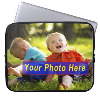 Custom Laptop Cases with YOUR PHOTO Laptop Computer Sleeves