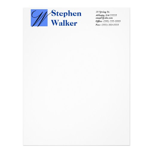 Personalized Papers Executive Stationery: Custom Resume Paper Personalized Letterhead