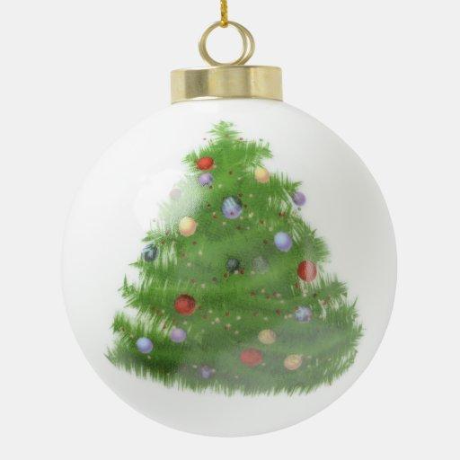 Custom Wedding Christmas Tree Ceramic Ball Ornamen Ceramic ...