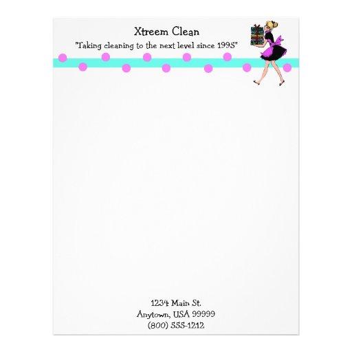 Clean Corporate Letterhead Template: Clean Letterhead, Custom Clean Letterhead Templates