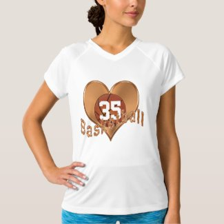 Customized Basketball Shirts w/ YOUR JERSEY NUMBER
