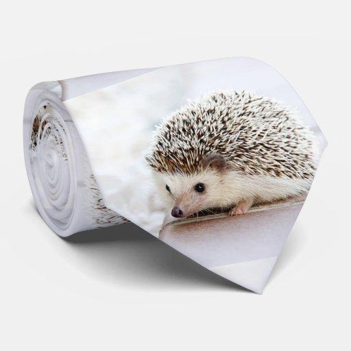 Cute Baby Hedgehog Photo Template Neck Tie Zazzle