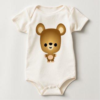 Cute Cartoon Bear Cub Baby shirt