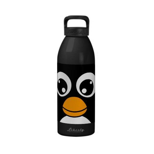 Cute Cartoon Penguin Black and White SIGG Traveler 1.0L ...
