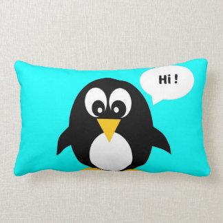 Cute Blue Penguin Pillows - Decorative & Throw Pillows ...