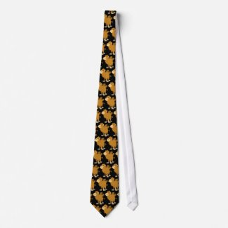 Cute Cartoon Two-Humped Camel Tie tie