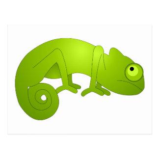 Cartoon Chameleon Postcards | Zazzle
