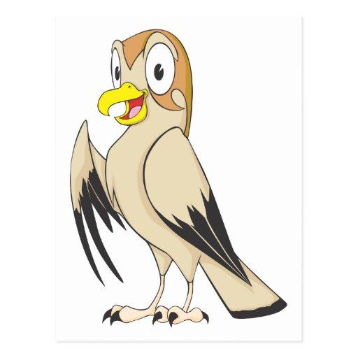 cute cartoon falcon