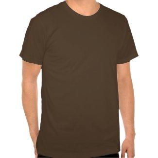 T-shirt gambadant mignon de chien de bande dessin� shirt