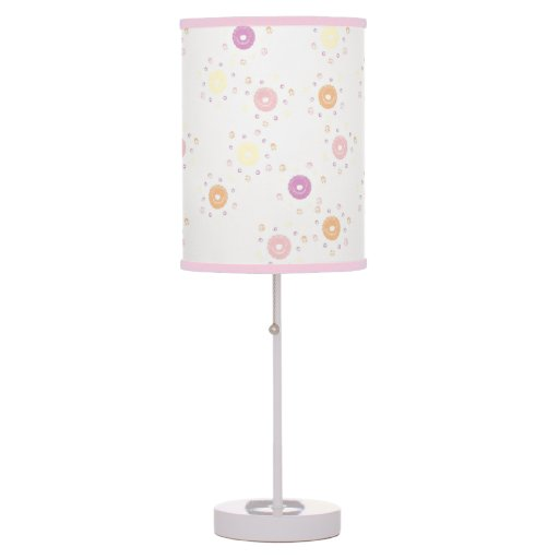 Girly Lamps For Bedroom: Cute Fun Girly Girlie Donuts Girl's Room Lamp