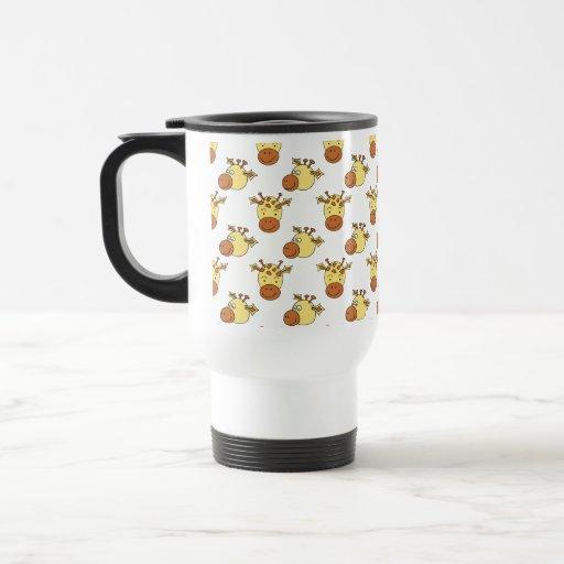 Giraffe Travel Coffee Mug