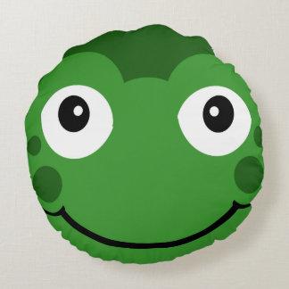 Cartoon Frog Pillows, Cartoon Frog Throw Pillows