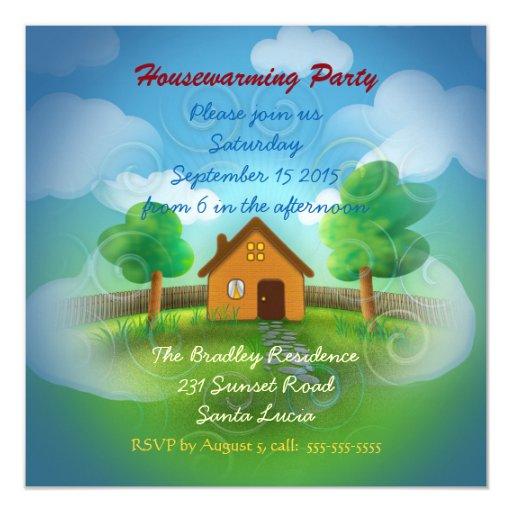 Cute Housewarming Party Invitation Zazzle