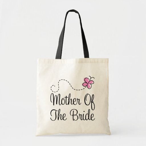 Mother Of The Bride Gifts: Cute Pink Mother Of The Bride Gift Tote Bag
