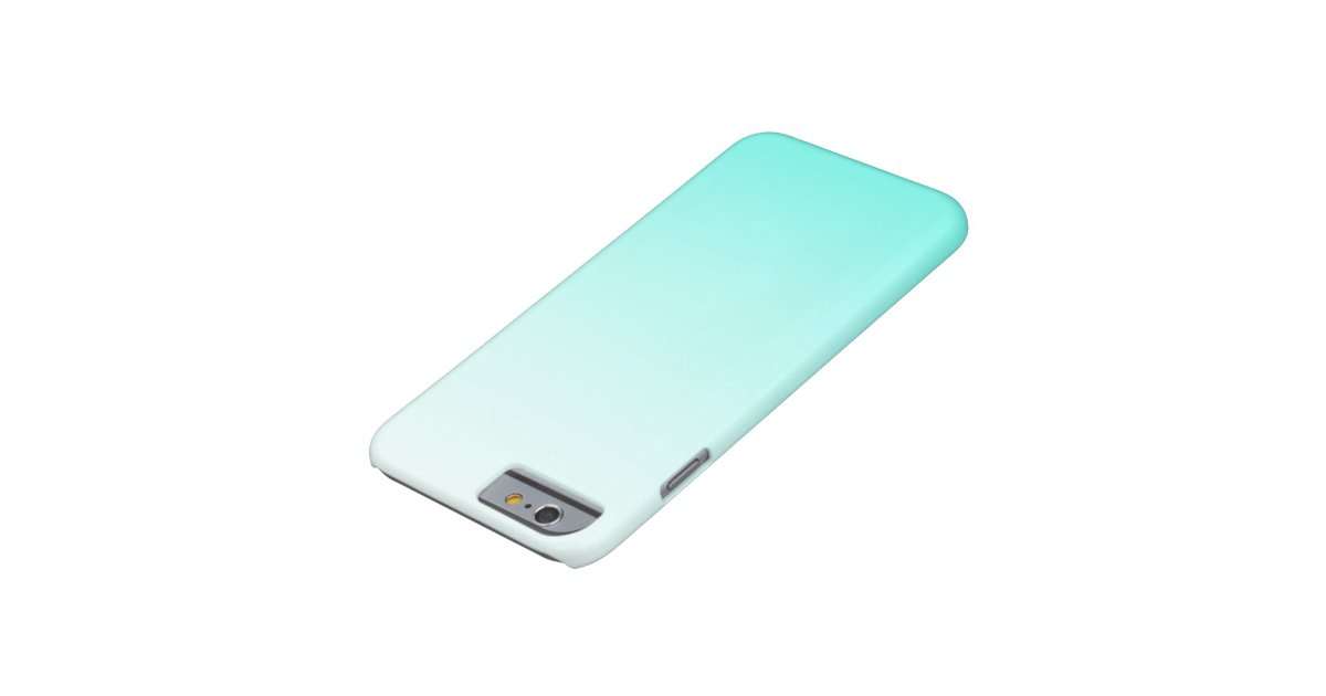 Cute Teal Ombre Girly IPhone 6 Case