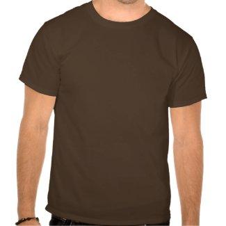 Cute Watchful Cartoon Lion T-shirt (front) shirt