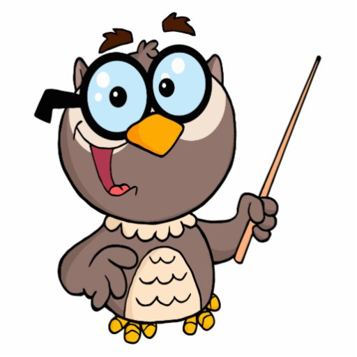 owl professor clipart - photo #32