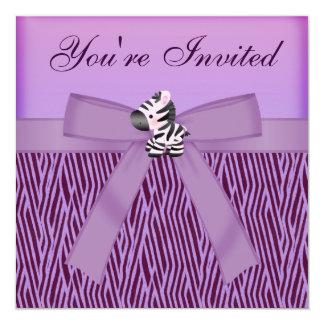 2,000+ Purple Zebra Invitations, Purple Zebra ...