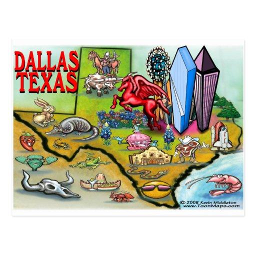 Dallas Tx Postcard Zazzle