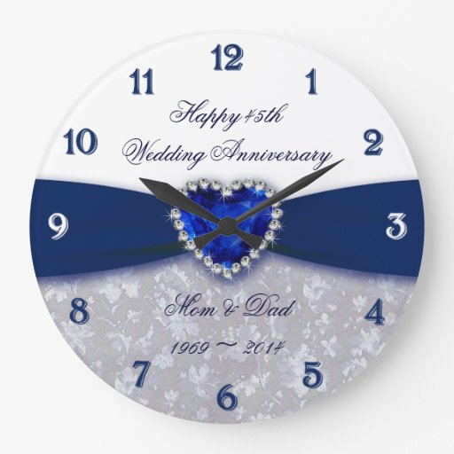 Traditional 45th Wedding Anniversary Gift: 5th Wedding Anniversary Gifts Fab 5 Year Anniversary Gift