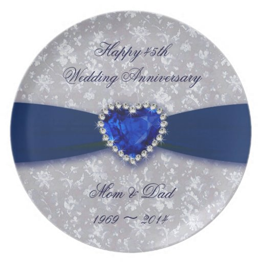 45 Wedding Anniversary Gift Ideas: Pin 45th Wedding Anniversary Party Ideas 50th Cake On