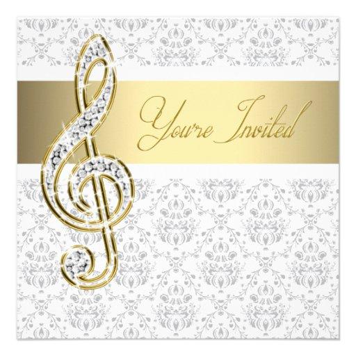 Personalized Piano Invitations