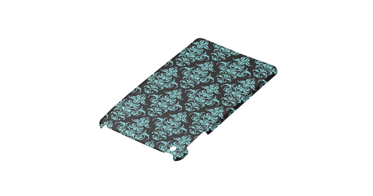 Pubg Wallpaper Ipad Mini: Damask Vintage Wallpaper Blue Pattern IPad Mini Covers