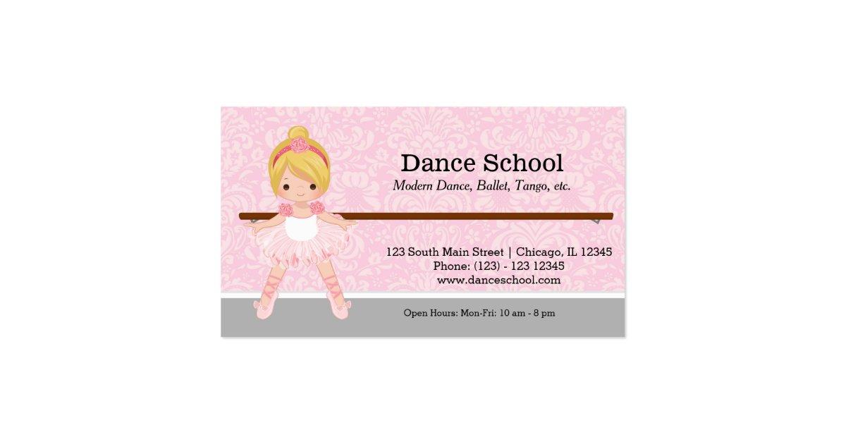 A Sample Dance Studio Business Plan Template