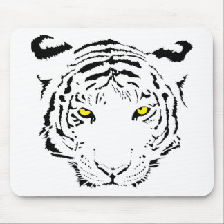 Tiger eye mouse pads zazzle - Scary yellow eyes ...