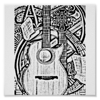 taylor guitar gifts t shirts art posters other gift ideas zazzle. Black Bedroom Furniture Sets. Home Design Ideas