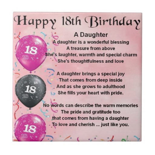 Inspirational Quotes For 18th Birthday: Stepdaughter Birthday Quotes. QuotesGram