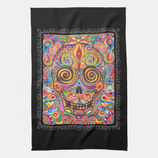 Day Of The Dead Kitchen Towels | Zazzle