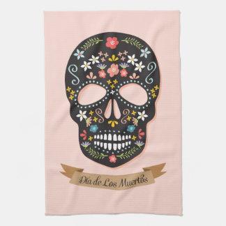 Sugar Skull Kitchen Towels   Zazzle