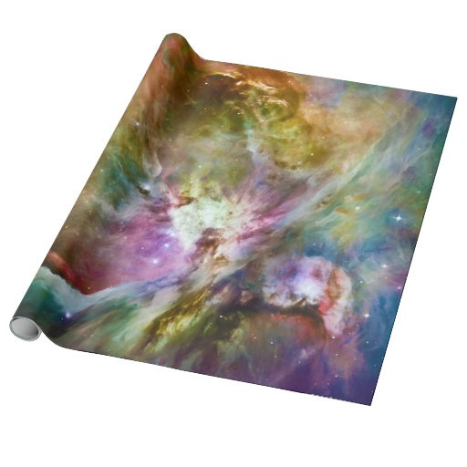 Decorative Orion Nebula Galaxy Space Photo Wrapping Paper | Zazzle