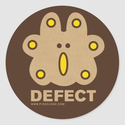 Defect Sticker Zazzle