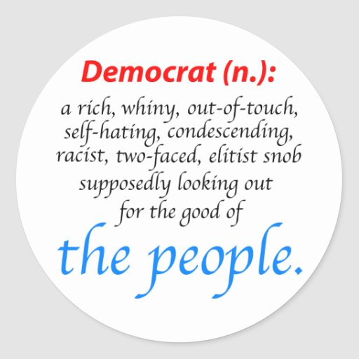 Buy Definition: Democrat Definition Stickers