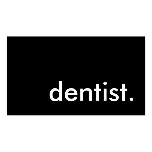 dental office nice to meet you card