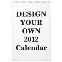 Calenders custom calender 2012 personalized calender for Create my own calendar template