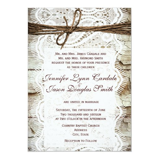 Design Your Own Wedding Invite: Design Your Own Rustic Country Wedding Invitations