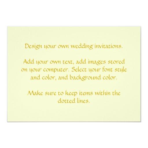Design Your Own Wedding Invite: Design Your Own Wedding Invitations