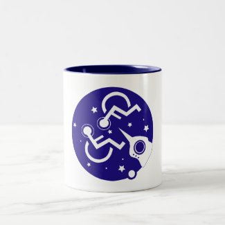 DISABLED IN SPACE COFFEE MUGS