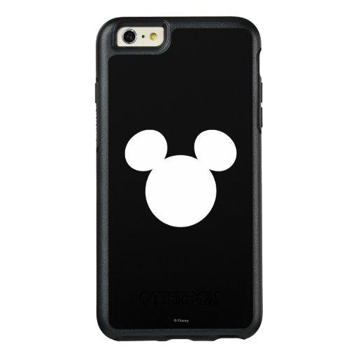Disney Logo   White Mickey Icon OtterBox iPhone 6/6s Plus ...